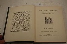 GILBERT W.S. The 'Bab' Ballads, London 1869, 1st