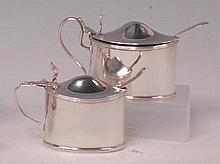 A late Victorian silver preserve pot, of