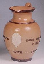 A Doulton Lambeth commemorative salt-glazed