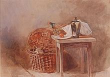 Circa 1900 English school - Still life with