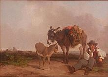 Follower of William Shayer (1788-1879) - Traveller