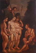18th century Continental school - The Judgement of