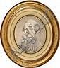 Ecole française du XVIIIème siècle Portrait d'un