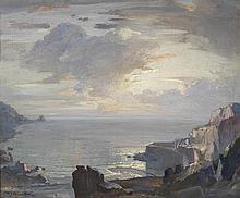 * Samuel John Lamorna BIRCH (1869-1955), Oil on canvas, 'Morning Lamorna Co