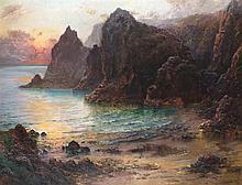 Garstin COX (1892-1933), Oil on canvas, 'The Cornish Lions Kynance' - eveni