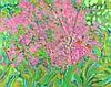 Jim WHITLOCK (b.1944), Oil on canvas, 'Clematis at Brief Garden' (Sri Lanka, Jim F. Whitlock, £240
