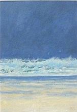 Robert JONES (b.1943), Oil on board, 'Atlantic Breakers', Inscribed & signe