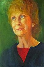 Joan RILEY (1920-2015), Oil on canvas, 'Rose' (Hilton), Inscribed, Signed