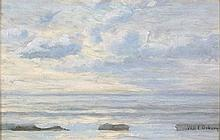 Will E. OSBORN (Exhibited 1886-1902), Oil on panel, A gentle swell St Ives
