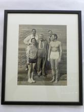 Johnny Weismuller original signed photo 1939