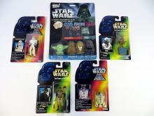 Star Wars 1995 Kenner Figures x 4 on card