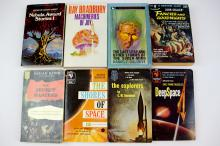 8 x 1950s/60s Science Fiction Books