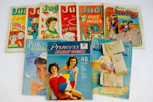 1960s Judy Comics + Summer Specials & Free Gifts