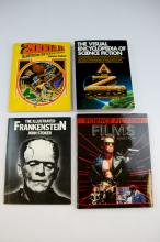 Set of 4 Science Fiction Reference Books