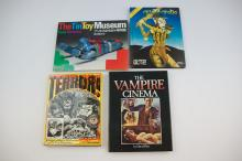Set of 4 Tin Toy & Horror Reference Books