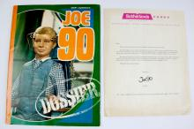 1960s Joe 90 Dossier with Rare Sutherlands Letter