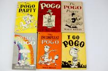 Collection of 1950s Pogo Books by Walt Kelly