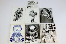 Collection of 6 Comic Fanzines 1960s/70s