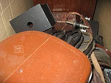 Agfa cine camera, Coronet cine camera, projector