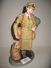 Royal Doulton Classics figure ' Auxiliary Territorial Service ' HN4495, Limited Edition 1012 of 2500