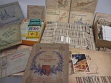 Large collection of various cigarette cards in albums and loose