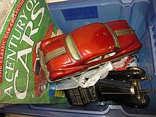 Quantity of various scale model cars