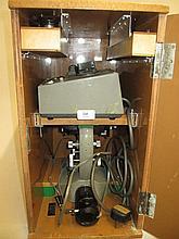 20th Century laboratory microscope supplied by Drug Houses of Australia Ltd in original box