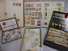Large quantity of stamps in albums and loose