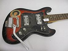 Raver, electric guitar circa 1970's