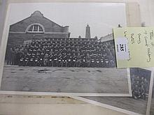 Similar folio containing a quantity of military group photographs from 1914 - 1970's