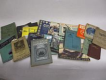 Small collection of early to mid 20th Century motoring related books