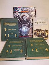 One volume, ' Harley Davidson, A Way of Life ', three volumes Charles Dickens, ' Household Editions ' and one volume, Patrick Bishop, ' Fighter Boys '