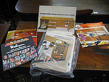Folio containing a collection of various 1960's and '70's furniture catalogues for G-Plan, Avalon and many others