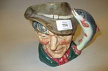 Royal Doulton character jug, ' The Poacher ' D6429