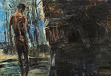 EUAN MACLEOD born 1956 Sky/Wall 1992 oil on canvas