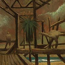 RICK AMOR born 1948 By The Sea 1988 oil on linen