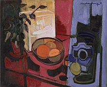 IAN ARMSTRONG (1923-2005) Still Life with Camera