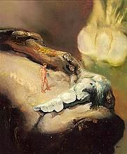 JAMES GLEESON (1915-2008) Figure in Psychoscape
