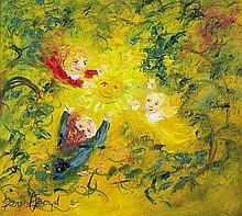 DAVID BOYD (1924-2011) The Sunflower oil on board