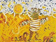 JOHN PERCEVAL (1923-2000) The Harvester oil on