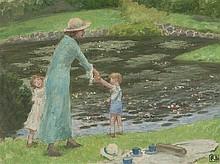 RUPERT BUNNY (1864-1947, Australian, French) The
