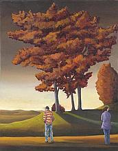 DAVID KEELING born 1951 Couple 1998/99 oil on