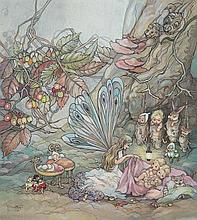 PEG MALTBY (1899-1984) Fairies Going to Bed