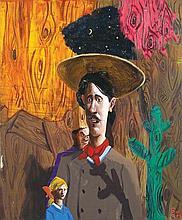 McLEAN EDWARDS born 1972 Art Student #2 2010 oil