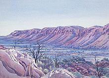 ALBERT NAMATJIRA (1902-1959) Tent Valley, James