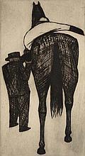 JOHN BRACK (1920-1999) Mounting 1956 etching