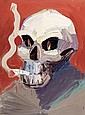 BEN QUILTY, born 1973, Amsterdam Skull with Fag,