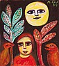 MIRKA MORA, born 1928, In the Dark, 1989, gouache