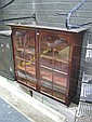 Early 19th Century Mahogany Bookcase Top with Astragal Doors