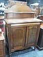 Colonial Cedar Chiffonier with Single Drawer & 2 Panel Doors